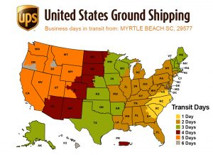 UPS Ground Shipping Time